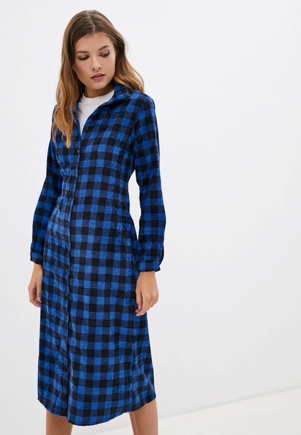 женское платье compania fantastica, синее