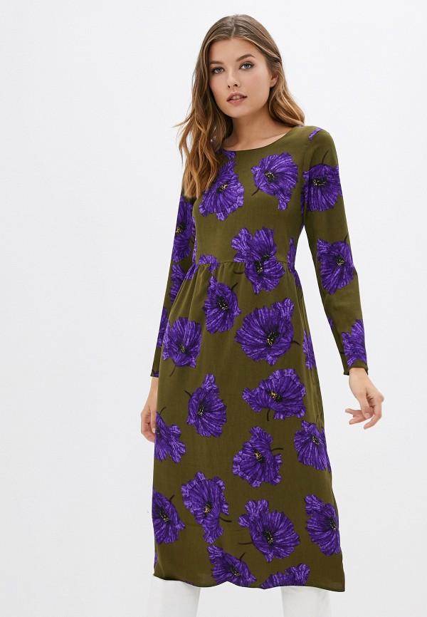 женское повседневные платье compania fantastica, хаки