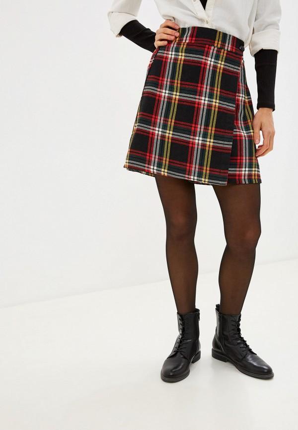 женская юбка compania fantastica, черная
