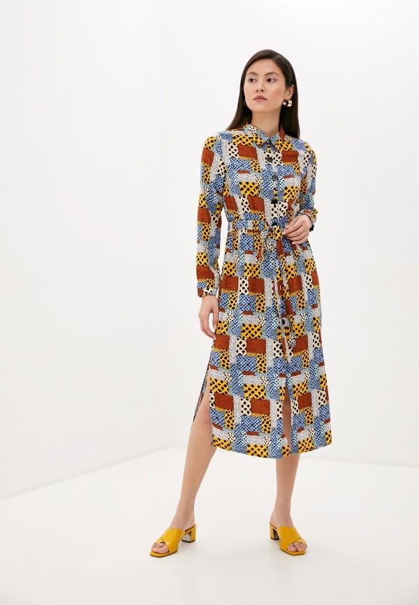 женское платье compania fantastica, разноцветное
