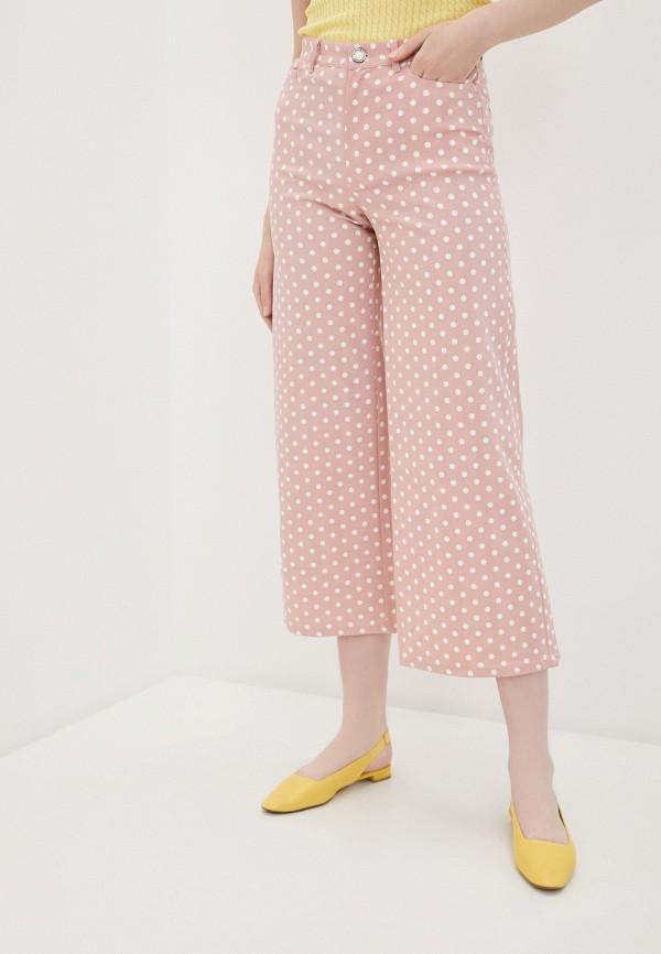 женские брюки compania fantastica, розовые