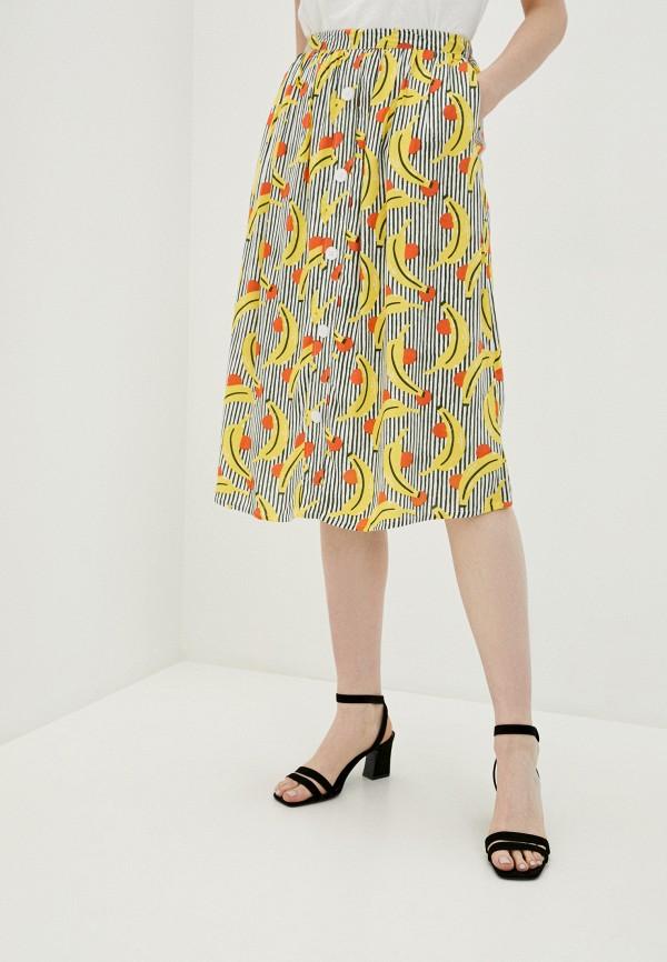 женская юбка compania fantastica, разноцветная