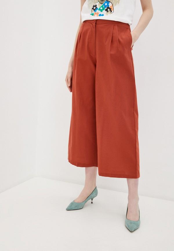 женские брюки compania fantastica, оранжевые