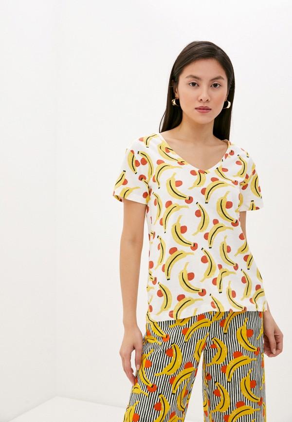 женская футболка compania fantastica, разноцветная