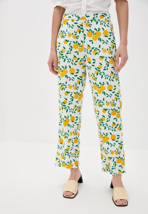 женские повседневные брюки compania fantastica, белые