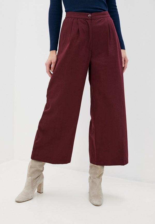 женские брюки compania fantastica, бордовые