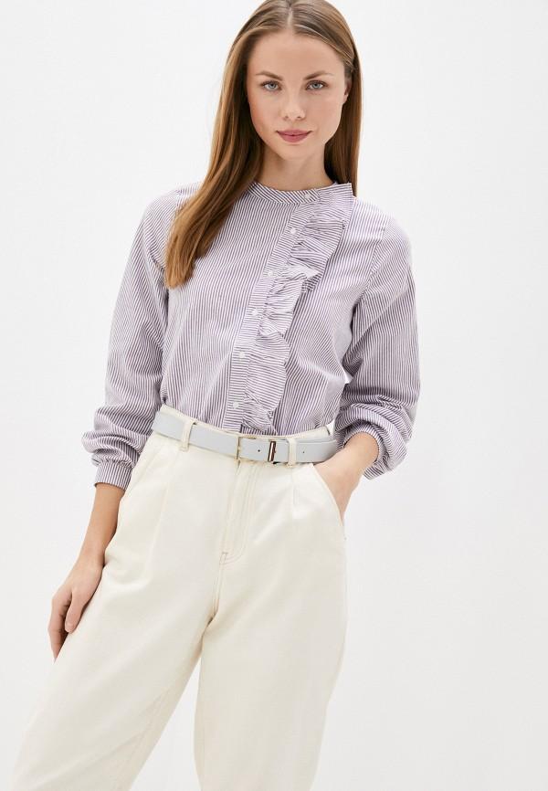 женская блузка compania fantastica, фиолетовая
