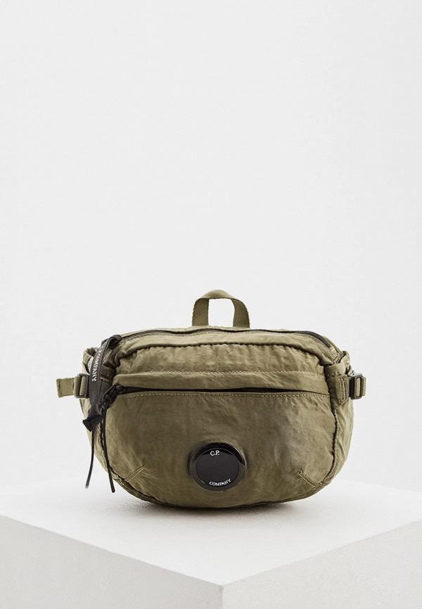 мужская сумка c.p. company, хаки
