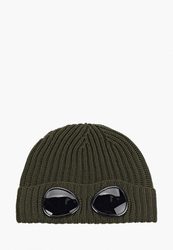 шапка c.p. company для мальчика, хаки