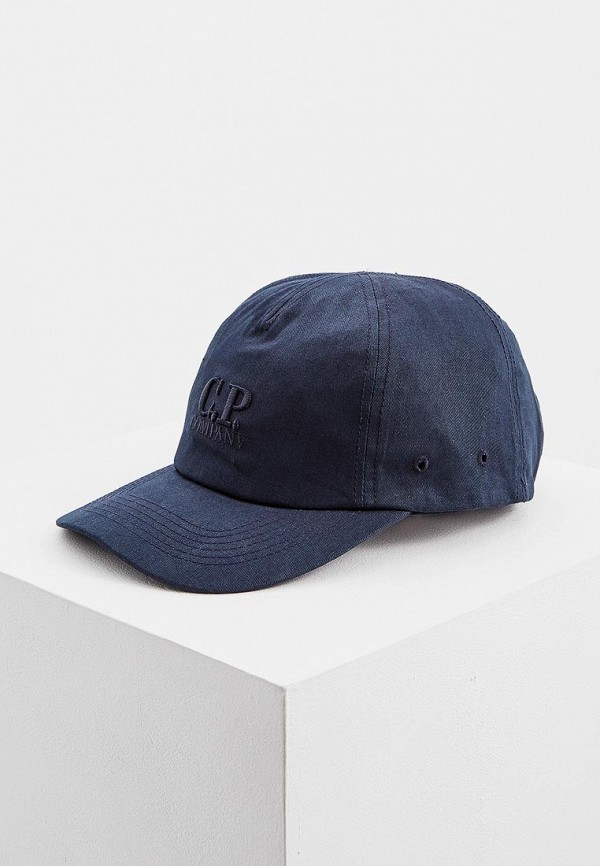 мужская бейсболка c.p. company, синяя