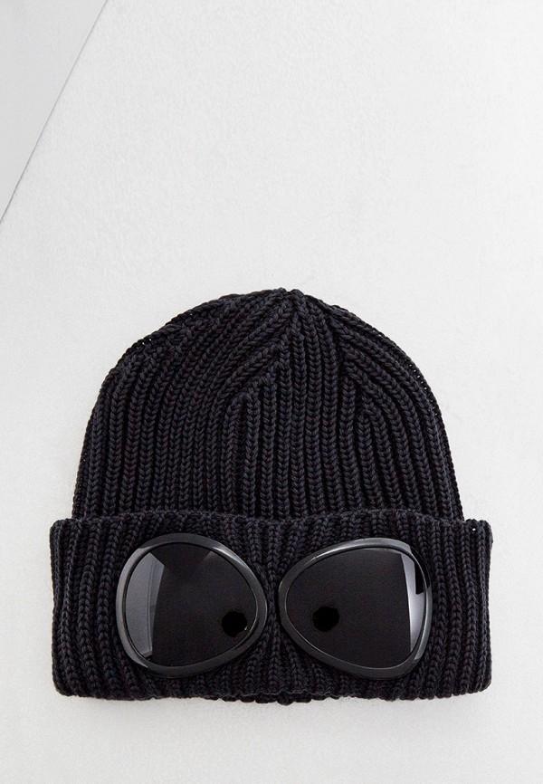 мужская шапка c.p. company, серая
