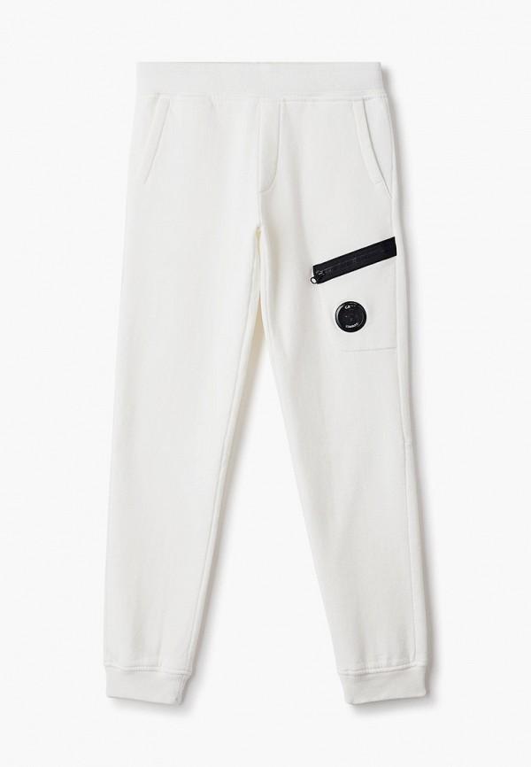 спортивные брюки c.p. company для мальчика, белые