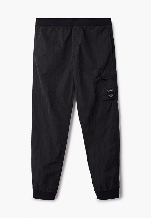 брюки c.p. company для мальчика, черные