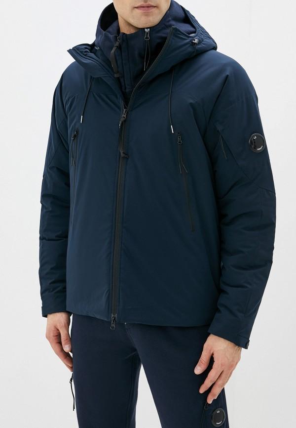 мужская куртка c.p. company, синяя
