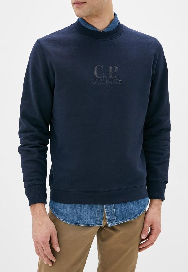 мужской свитшот c.p. company, синий