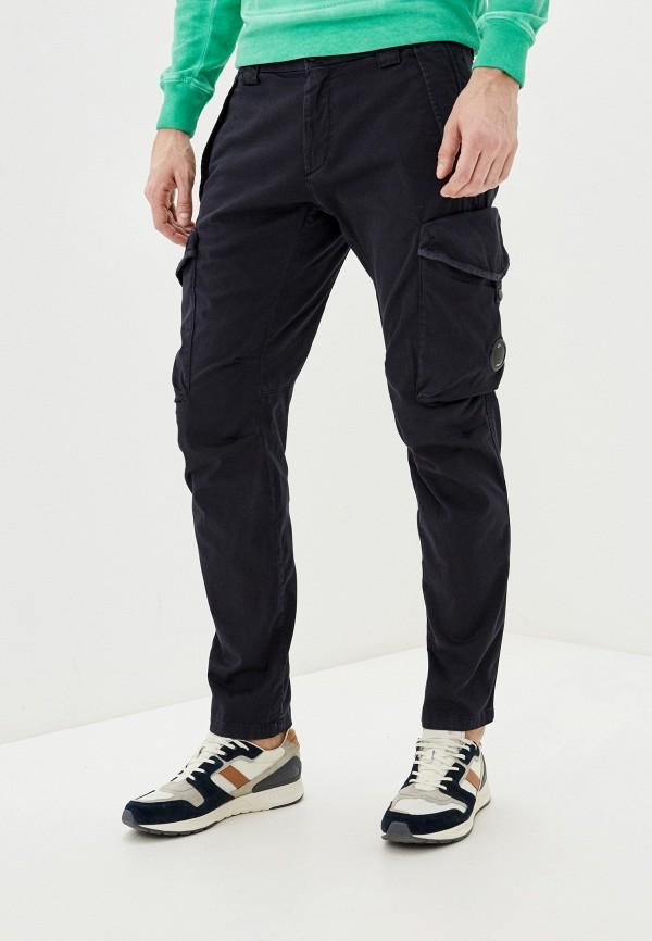 мужские повседневные брюки c.p. company, синие