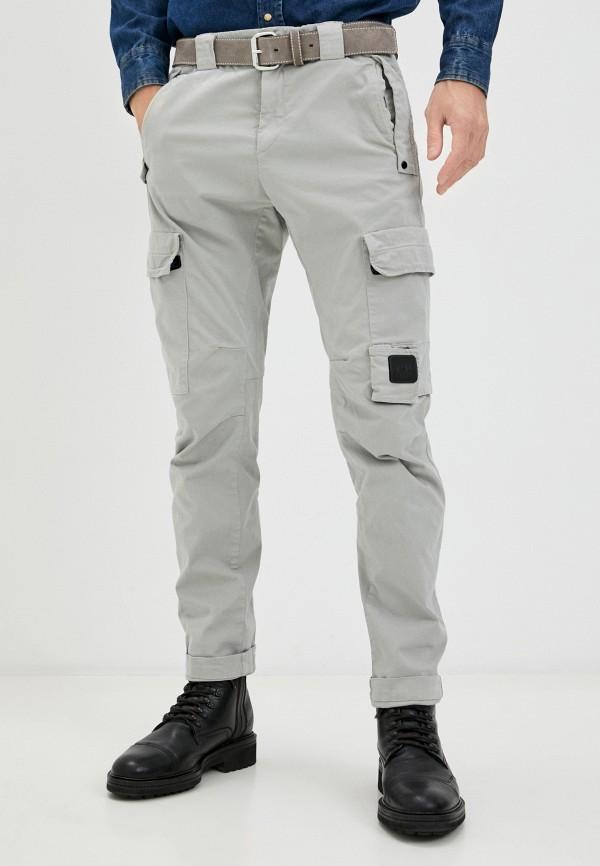 мужские повседневные брюки c.p. company, серые