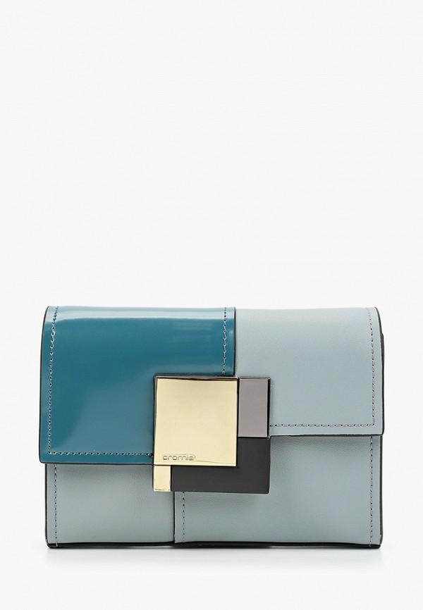 женская сумка cromia, голубая