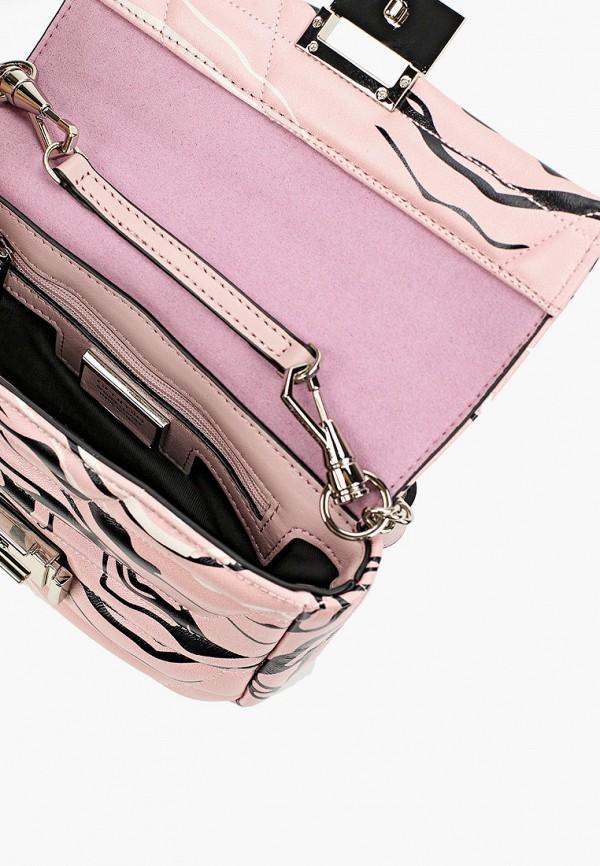 Фото 3 - Сумку поясная Cromia розового цвета