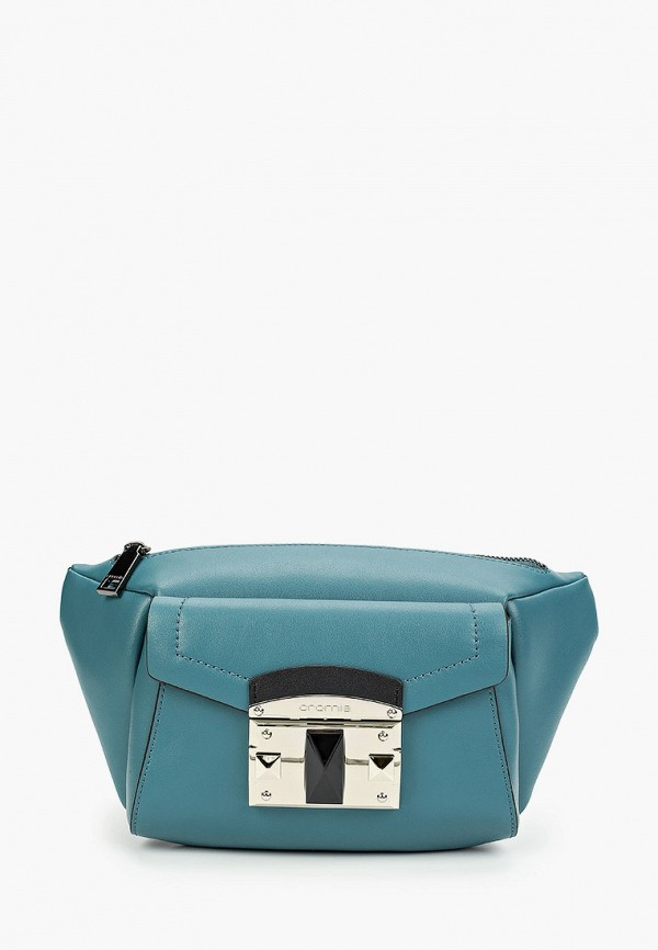 женская сумка cromia, зеленая