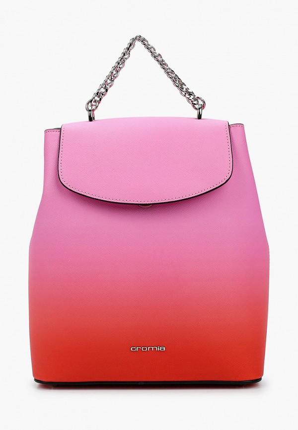 женский рюкзак cromia, розовый