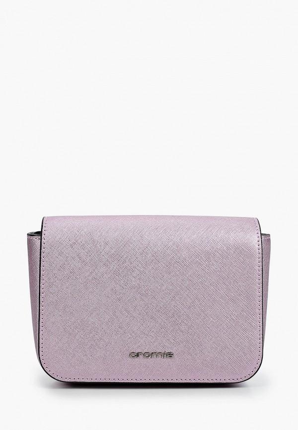 женская поясные сумка cromia, фиолетовая