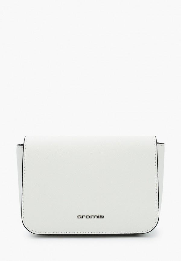 женская поясные сумка cromia, белая