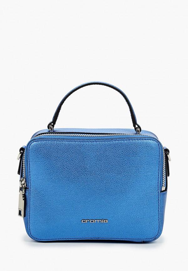 женская сумка cromia, синяя
