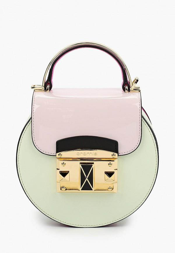 женская сумка через плечо cromia, бирюзовая
