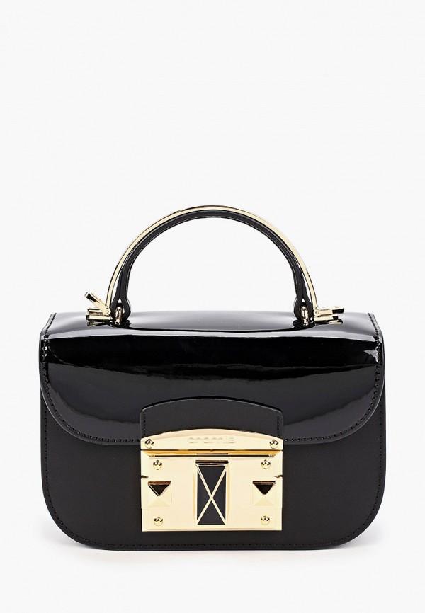 женская сумка через плечо cromia, черная