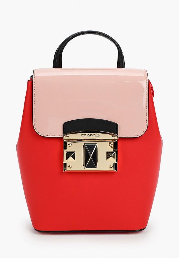 женский рюкзак cromia, красный