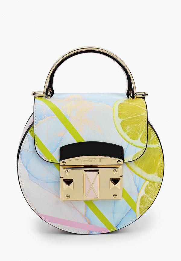 женская сумка через плечо cromia, разноцветная