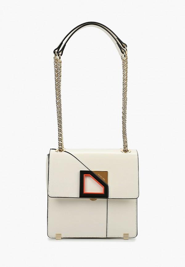 женская сумка через плечо cromia, белая