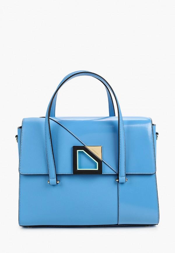 женская сумка через плечо cromia, синяя