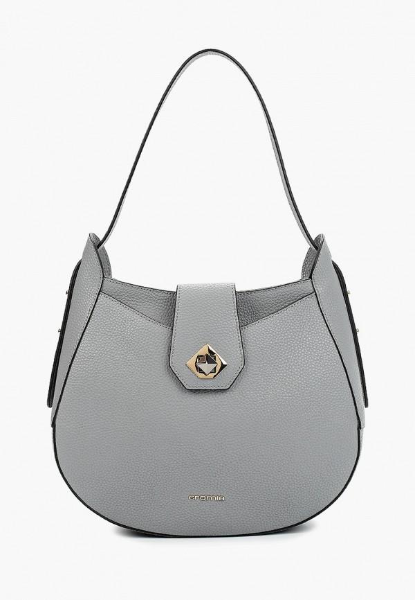 женская сумка cromia, серая