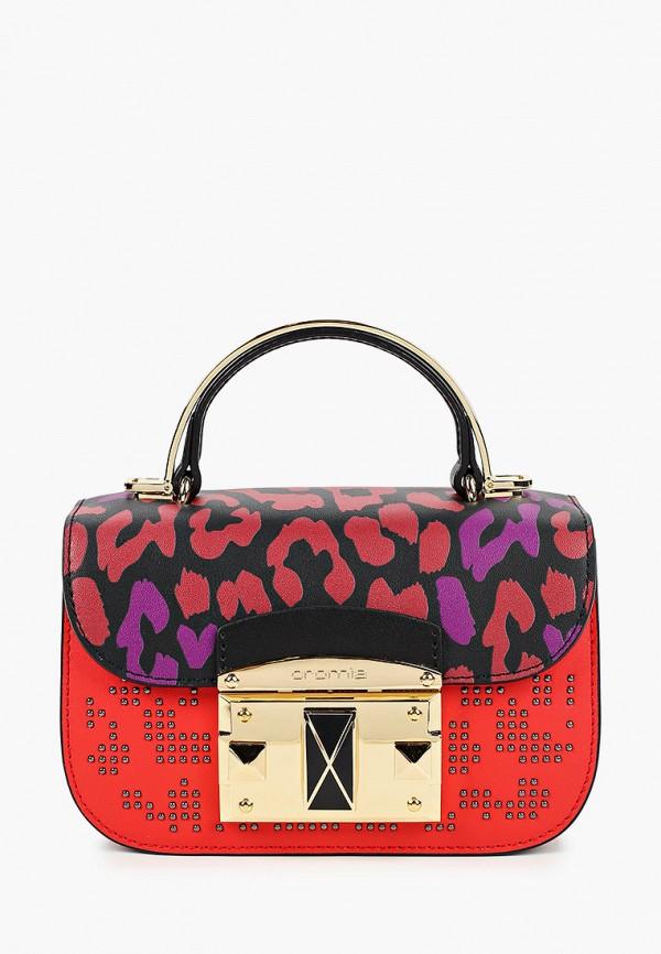 женская сумка cromia, красная