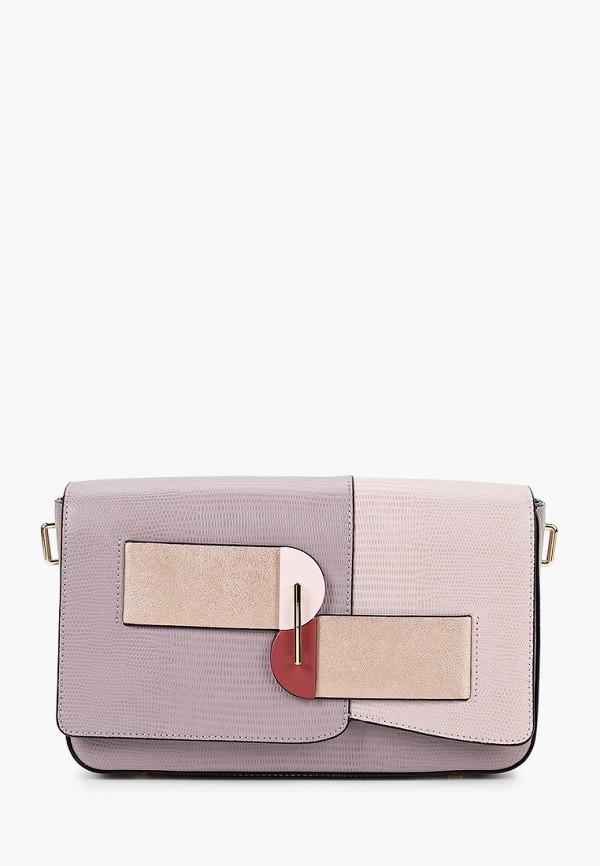 женская сумка cromia, фиолетовая