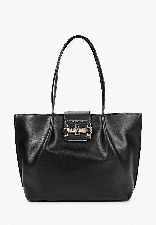 женская сумка cromia, черная
