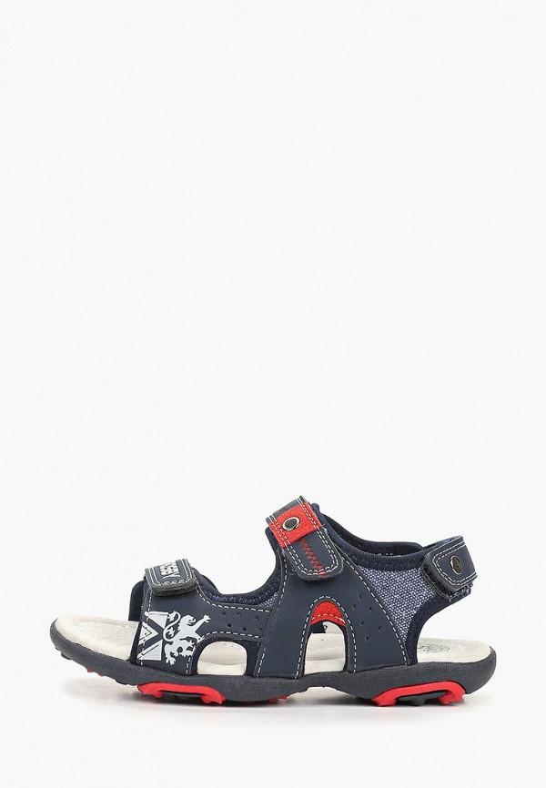 сандалии crosby для мальчика, синие