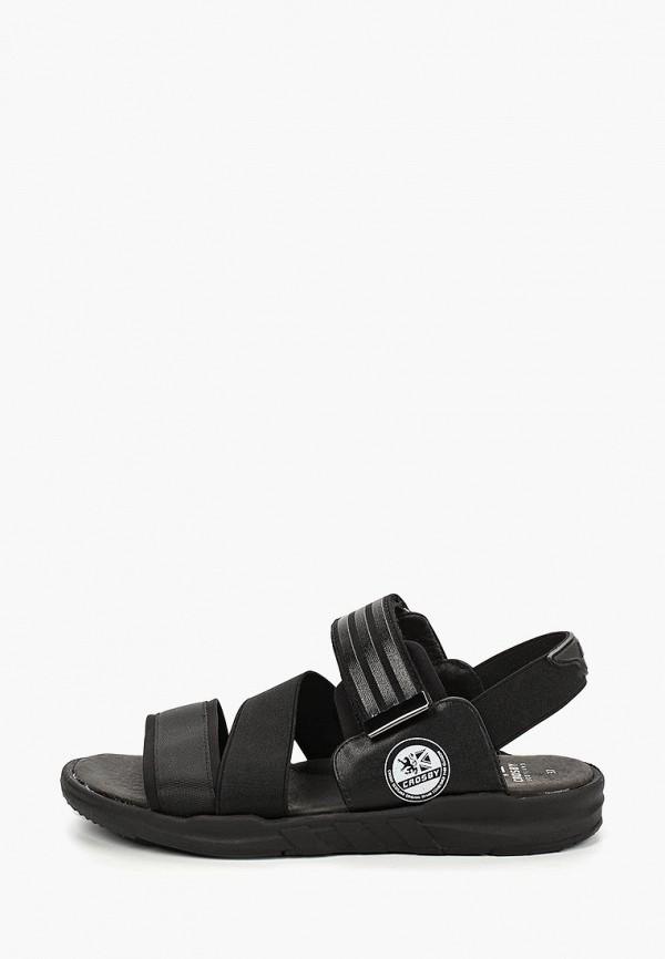 сандалии crosby для мальчика, черные