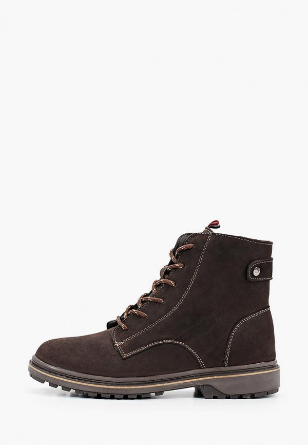 ботинки crosby для мальчика, коричневые