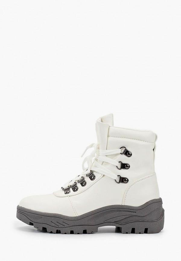 ботинки crosby для девочки, белые