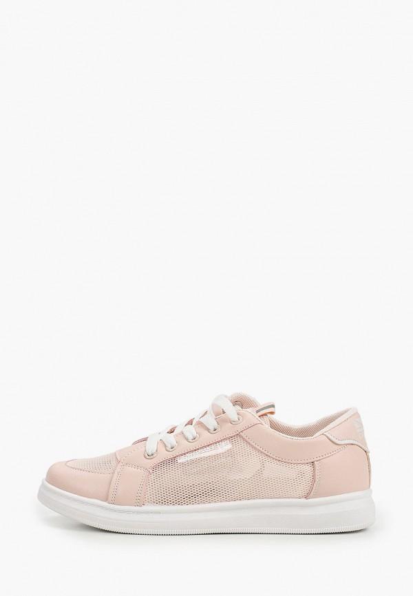 кеды crosby для девочки, розовые