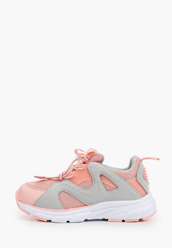 кроссовки crosby для девочки, разноцветные