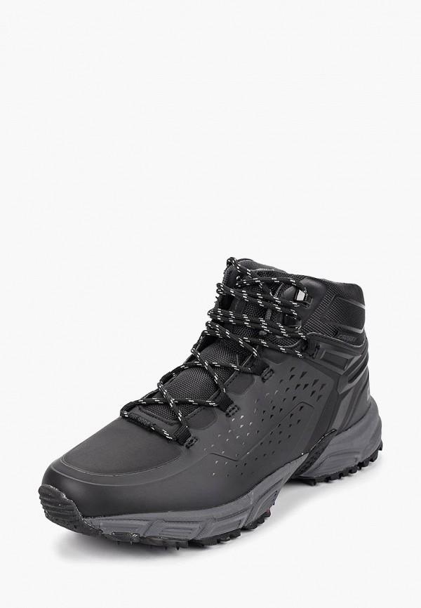 Купить Ботинки трекинговые Crosby, cr004amcilv8, черный, Осень-зима 2018/2019
