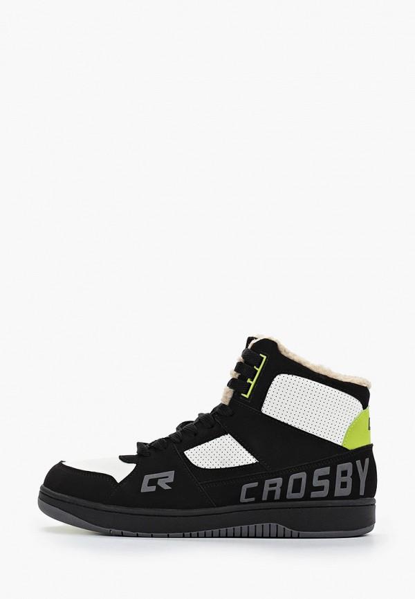 мужские кроссовки crosby, белые