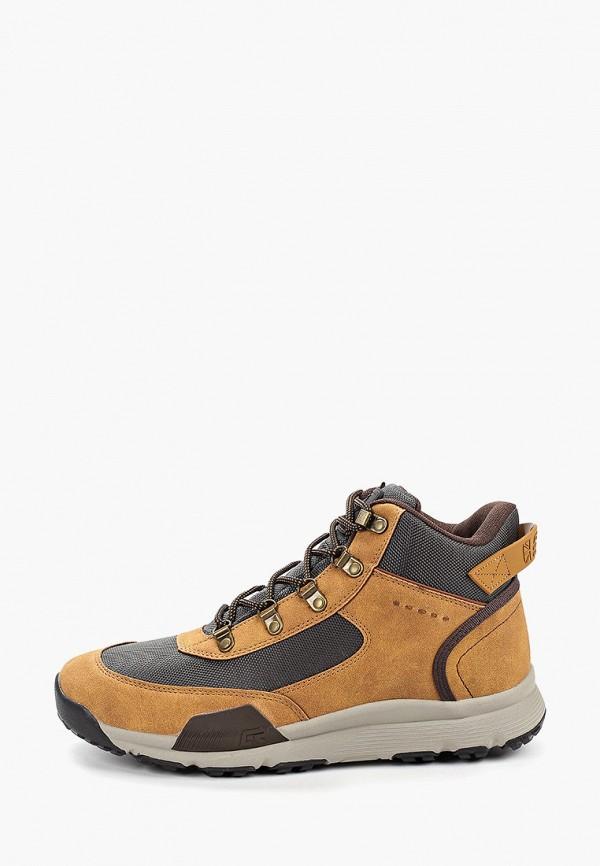 мужские ботинки crosby, коричневые
