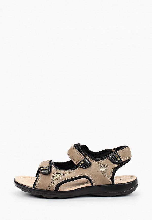 мужские сандалии crosby, коричневые