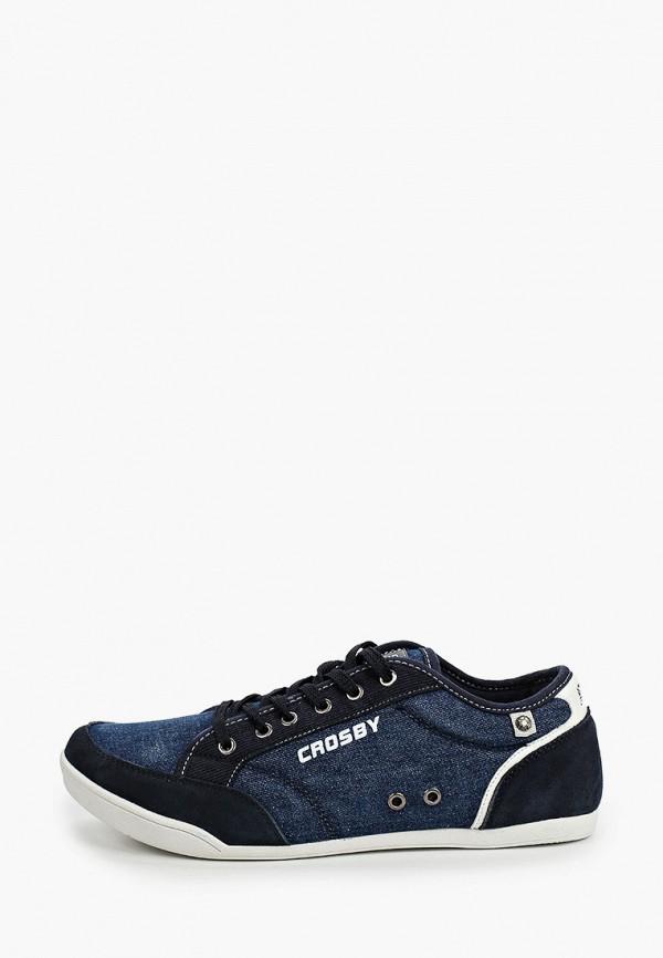 мужские кеды crosby, синие