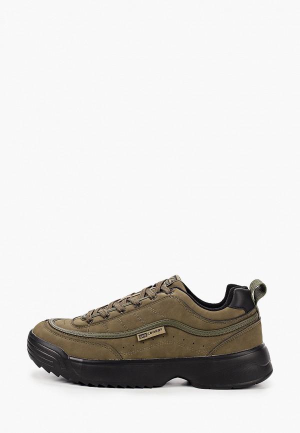 мужские низкие ботинки crosby, хаки